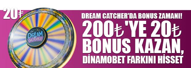 dream-catcher bonusu